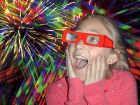 Rainbow Fireworks Glasses