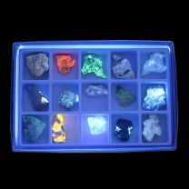 Fluorescent Mineral Collection - Short Wave Fluorescent