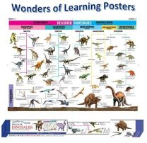 Wonders of Learning Wall Chart Discover Dinosaurs
