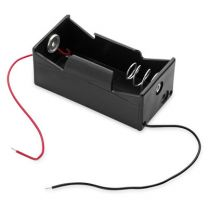 Battery Holder, C Size with Leads