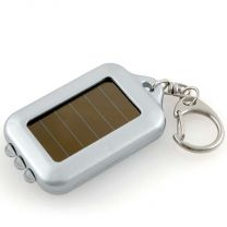 LED Solar Power Flashlight