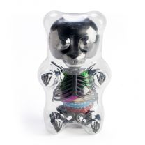 Gummy Bear Metallic Black Anatomy Model