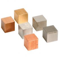 25mm Density Cubes - 6 Metals