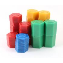 Stackable Plastic Weight Set