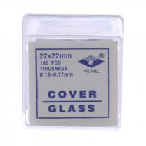 Microscope Slide Cover Slip Glass 22x22mm