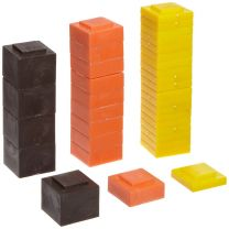 Square Stacking Plastic Mass Set