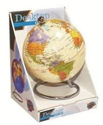 Antique Desktop Globe - 10cm
