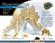 Wood Craft Kit, Large Stegosaurus
