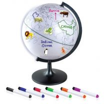 28cm Color My World Globe