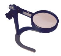 90mm Magnifier Stand With Lamp
