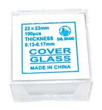 Microscope Slide Cover Slip, 20x20mm