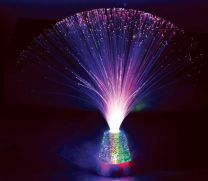 Wheelers Fibre Optic Lamp