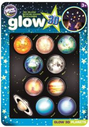 Glow 3D Planets