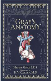 Grays Anatomy - Leather Bound