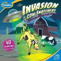 Invasion of the Cow Snatcher: Mooove the Magnets Logic Game