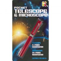 Pocket Telescope & Microscope