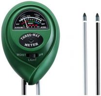 Solar Powered Soil Tester, 3-in-one