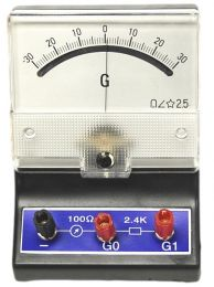 Galvanometer, -30 to 30uA