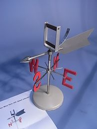 Wind Vane Speed Indicator