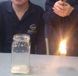 Gas Candle Detection